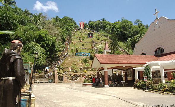 Lucban Philippines  City new picture : Kamay ni Hesus hill Lucban Philippines