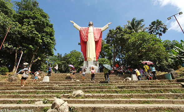 Lucban Philippines  City new picture : Kamay ni Jesus statue Lucban Philippines