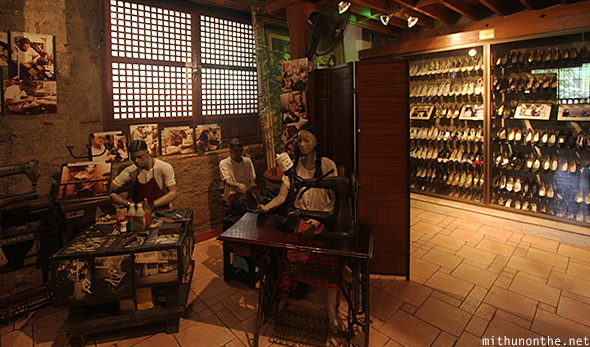 Marikina shoe museum displays Manila