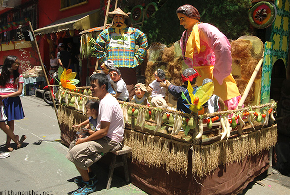Pahiyas float Lucban Philippines