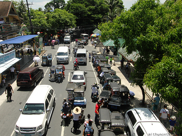 Lucban Philippines  city pictures gallery : Traffic Lucban Philippines