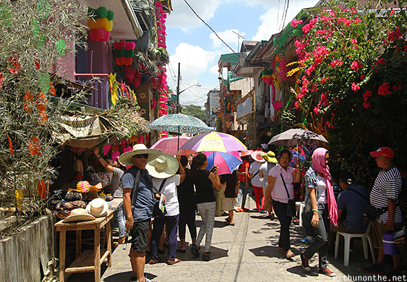 Lucban Philippines  city photo : Umbrellas sunny Lucban Philippines