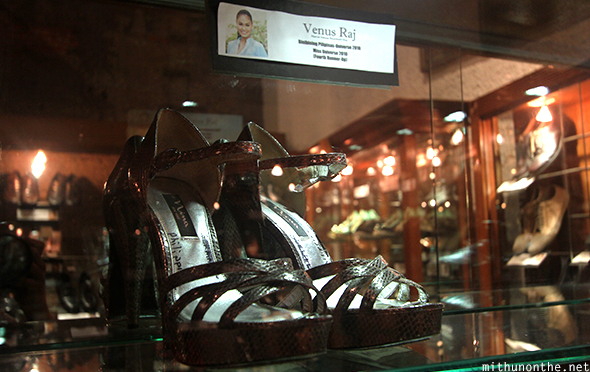 Venus Raj shoes Marikina shoe museum