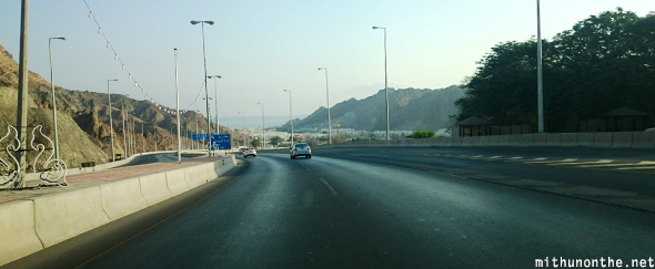 Muscat City highway Oman