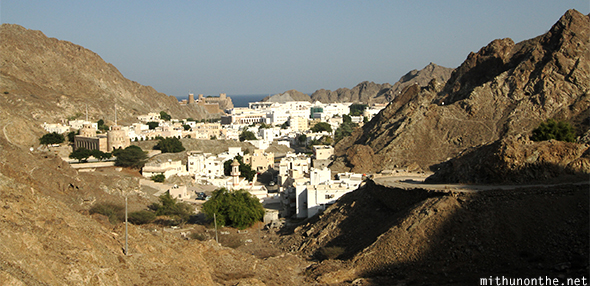 Muscat hill view Oman