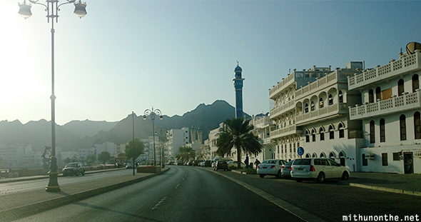 Muscat marina in morning Oman