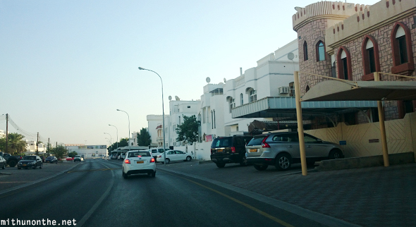 Muscat residential neighbourhood Oman