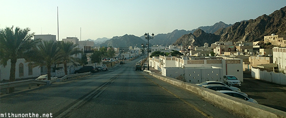 Muscat township Oman