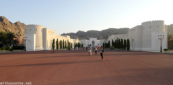 Royal Palace Muscat parade ground Oman
