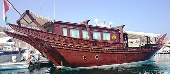 Dhow boat Muscat Oman