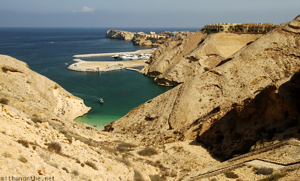 Viewpoint Oman bay Muscat
