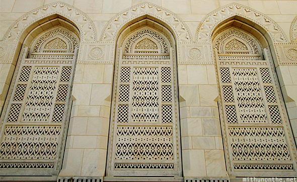 Islamic architecture window designs Muscat