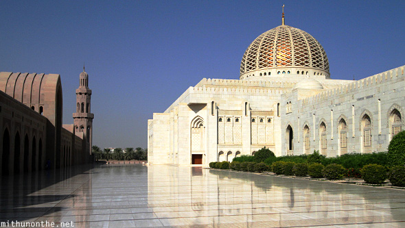 Grand Mosque dome Muscat Oman