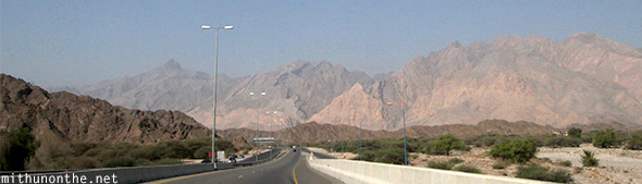 Highway to Nizwa Oman