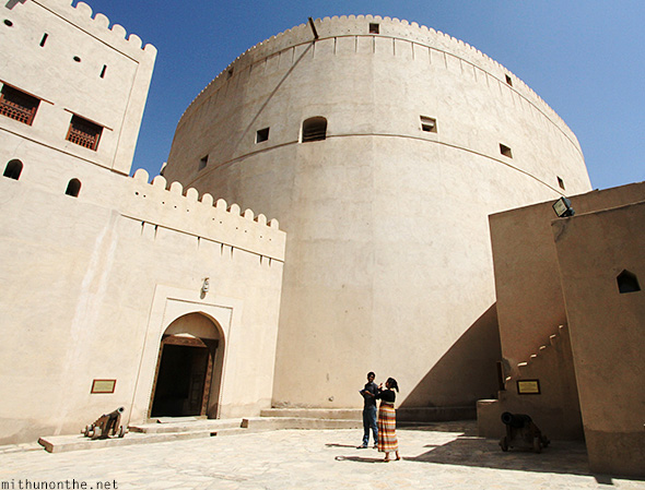 Nizwa fort main tower Oman