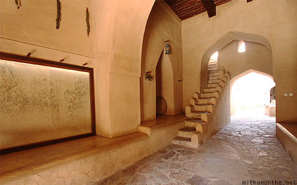 Nizwa fort old Oman history
