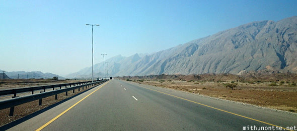 Nizwa mountain highway Oman