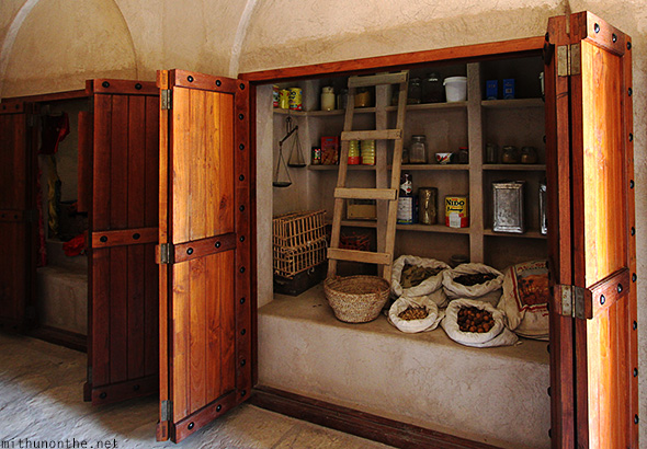 Old store Oman Nizwa fort