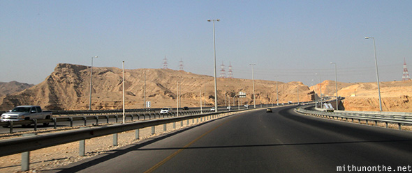 Oman highway to Nizwa