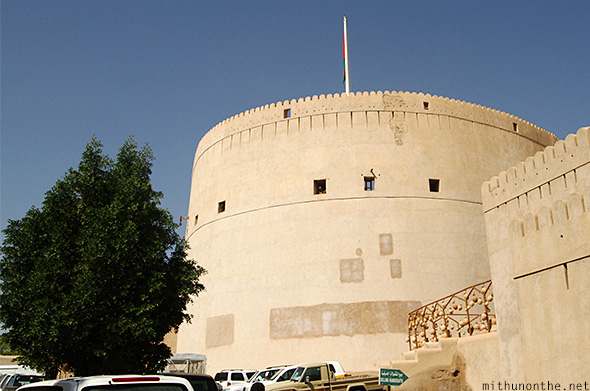 Tower Nizwa fort Oman