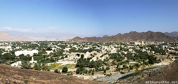 Bahla town mountains Oman