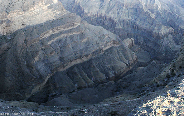 Jebel Shams bottom Oman