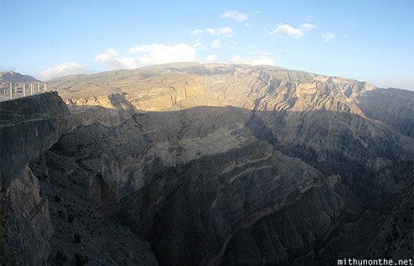 Jebel Shams panorama Oman