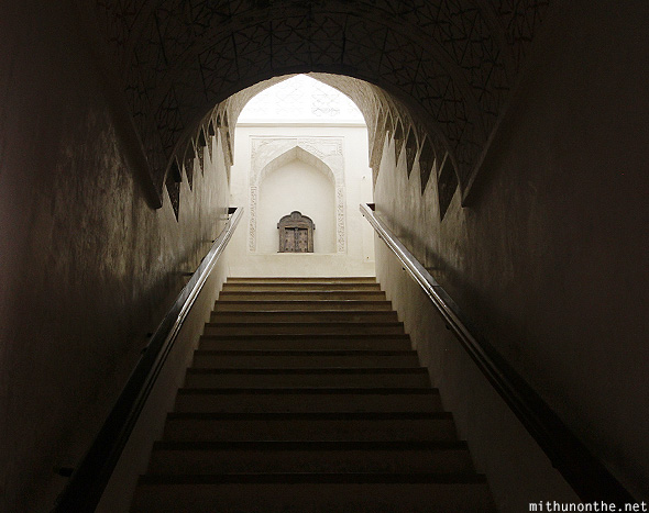 Stairs Jabreen castle Oman