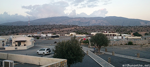 Jebel Shams resort view Oman