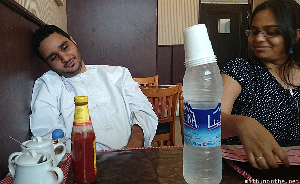 Majjid tired Sur restaurant