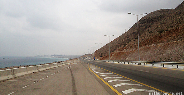 Oman Arabian sea highway