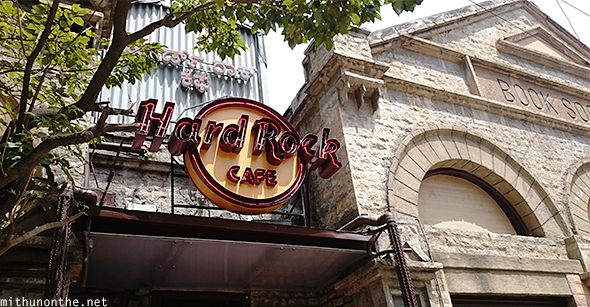 Hard Rock cafe Bangalore