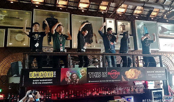 YMCA dance Hard Rock Cafe Bangalore