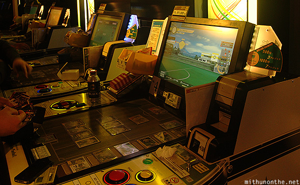 Card strategy arcade game Tokyo
