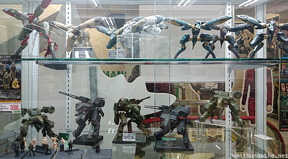 Metal Gear Solid action figures Kotobukiya
