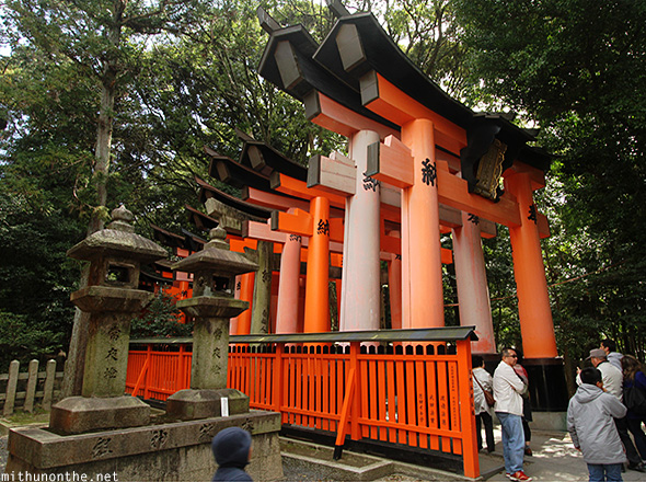 Fushimi Inari wooden pillar gates