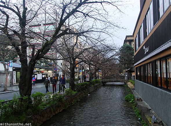 Stream Kyoto city Japan