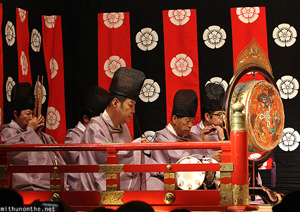 Traditional Japanese music Gion corner