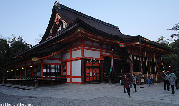Yasaka shrine temple Kyoto
