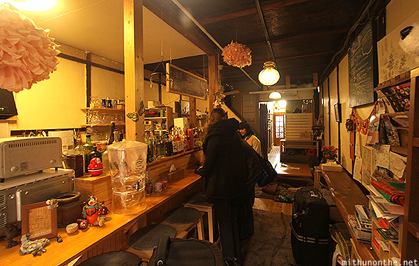 Himeji 588 Guesthouse reception