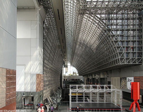 Kyoto station roof design Japan