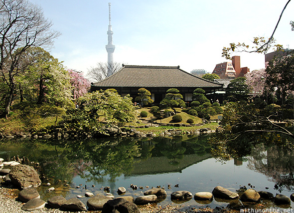 Denboin garden skytree Japan