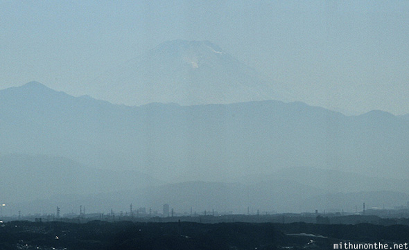 Mt. Fuji view from Tokyo