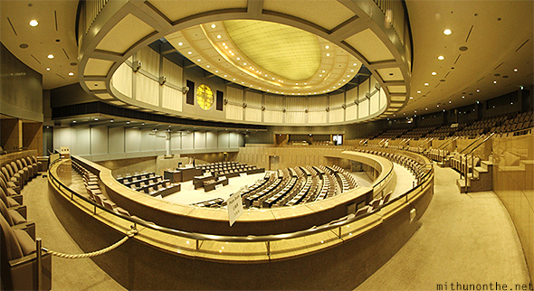 Tokyo assembly hall panorama