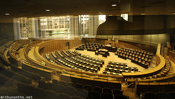 Tokyo government assembly hall Japan