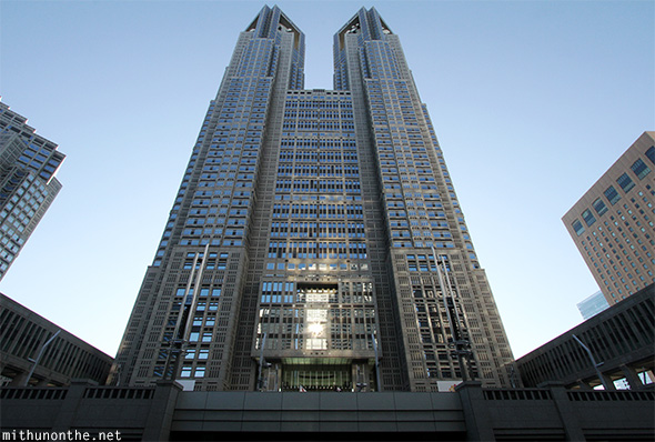 Tokyo Metropolitan Government building twin towers