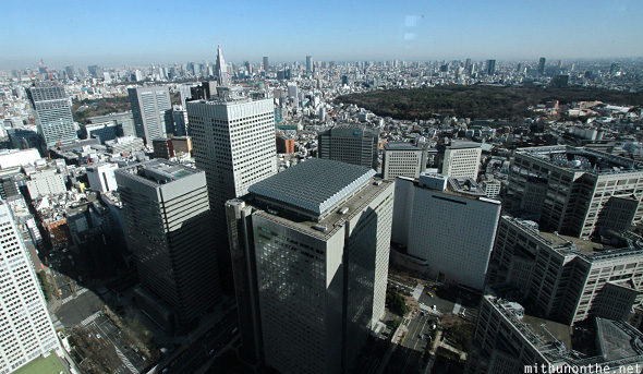 View from North Tower Tokyo