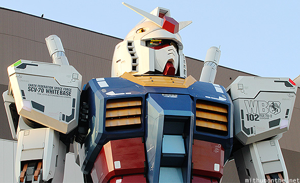 Gundam RG 1/1 RX 78-2 version life-size model