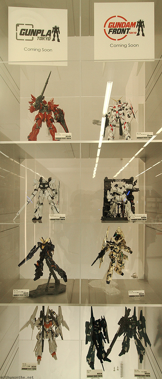 Gunpla model kits coming soon Gundam
