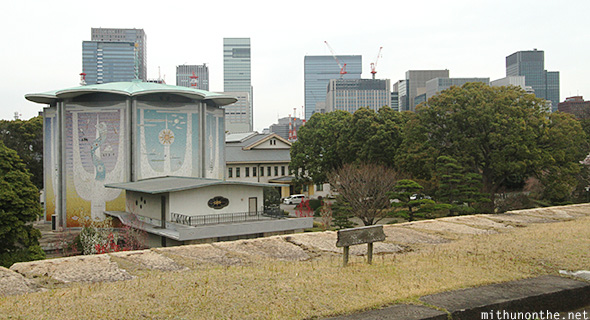 Tokyo view imperial palace east garden